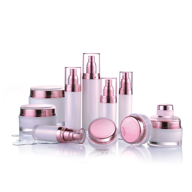 30ml Acrylic airless pump cosmetic bottle
